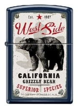 Зажигалка Zippo 239 West Side Bear