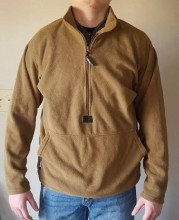Флисовый пуловер USMC Polartec 100 Half Zip Peckham Industries