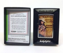 Зажигалка Zippo 206 Wanted Country Girl #2