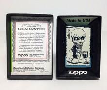Зажигалка Zippo 28679 Skeleton Bartender Chameleon