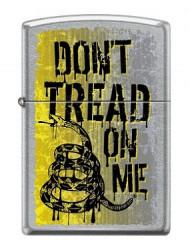 Зажигалка Zippo 9968 Dont Tread on Me Rattlesnake