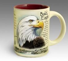 Кружка керамическая Bald Eagle (American Expedition)