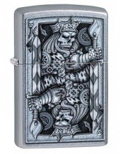 Зажигалка Zippo 29877 Steampunk King of Spades