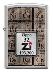 Зажигалка Zippo Periodic Table of the Elements