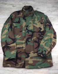 Куртка M65 контрактная Woodland новая с лайнером