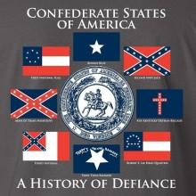 Футболка Confederate States of Amerika
