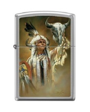 Зажигалка Zippo 200 Legend of White Buffalo