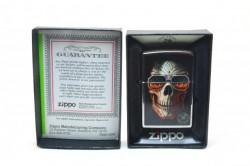 Зажигалка Zippo 29108 Anne Stokes Skull Sunglasses