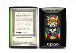 Зажигалка Zippo Jaguar Skull
