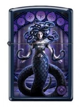 Зажигалка Zippo 2920 Anne Stokes Medusa Snakes