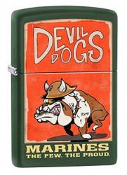 Зажигалка Zippo 221 US Marines Devil Dogs