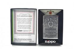 Зажигалка Zippo 250JB 928 Jim Beam Pewter Emblem