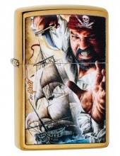 Зажигалка Zippo 29781 Pirate Ship