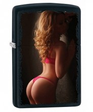 Зажигалка Zippo 79563 Sexy Pin-Up Girl in Red Lingerie