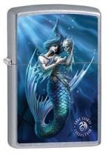 Зажигалка Zippo 79599 Anne Stokes Mermaid with Skull