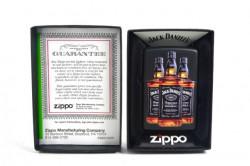 Зажигалка Zippo Jack Daniels Three Bottles