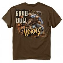 Футболка  Buckwear  Grab The Bull.