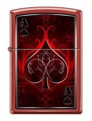 Зажигалка Zippo 1446 Ace of Spades Design