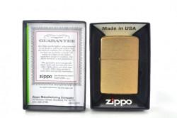 Зажигалка Zippo 204B Brushed Brass