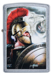 Зажигалка Zippo 49095 Mazzi Warrior and Lion