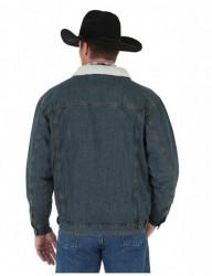 Куртка джинсовая Wrangler Mens Sherpa Cowboy Cut