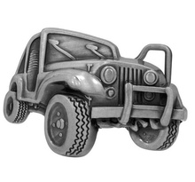 Пряжка Jeep Wrangler Off Road Silver