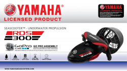 Yamaha podvodni rekreativni skuter RDS300