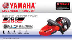 Yamaha podvodni rekreativni skuter RDS200