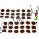 Set petice si lipici reparatie pana - camera