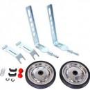 Roti ajutatoare din metal pentru bicicleta 12-20
