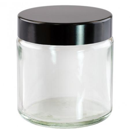 Borcan de sticla cu capac Clara 120 ml