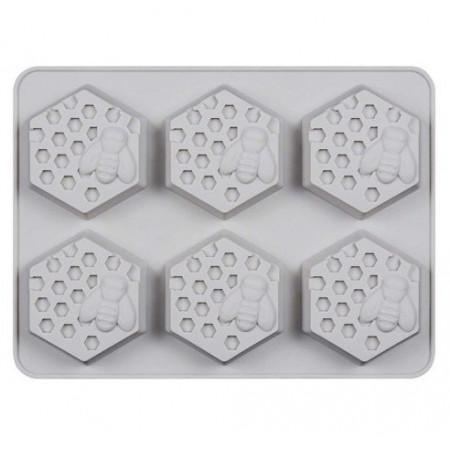 Forma de silicon fagure de miere -6 bucati