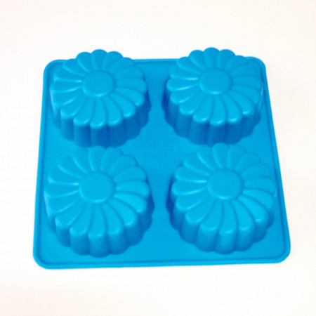 Forma de silicon Margareta mica 4 cavitati