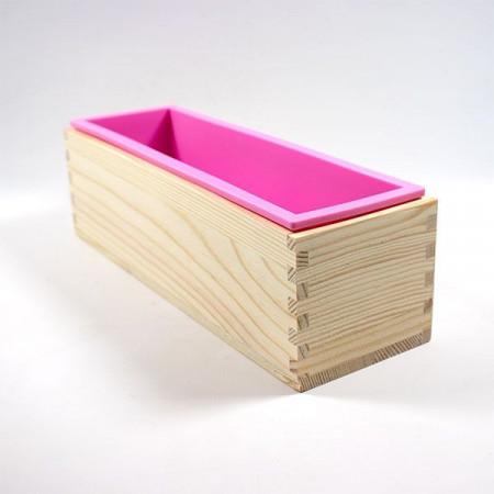 Forma din lemn cu captuseala detasabila din silicon