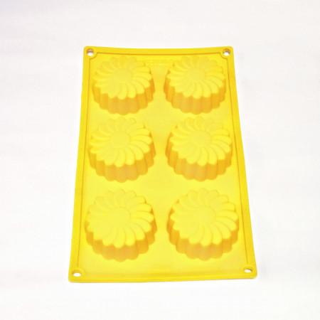 Forma silicon Margareta 6 cavitati