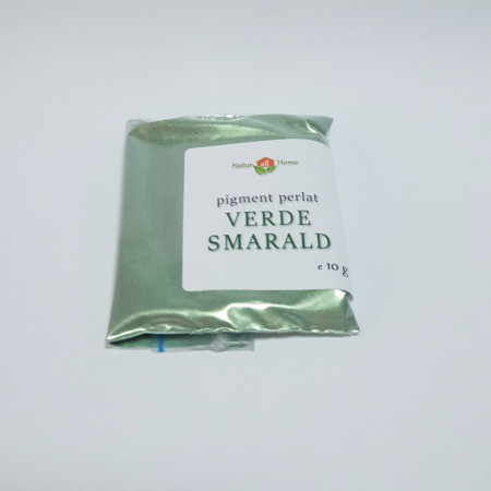 Pigment cosmetic perlat Mica Verde smarald 10 gr