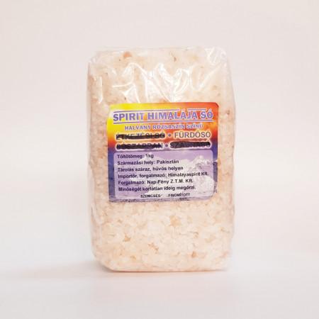 Sare cristalina Himalaya - alimentara- GRANULATA 3 - 5 mm 1kg