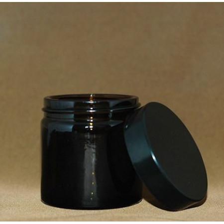 Borcan de sticla AMBRA cu capac 60 ml