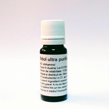 Ihtiol ultra purificat 10 ml