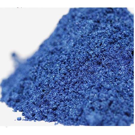 Pigment mineral perlat albastru inchis 8 gr