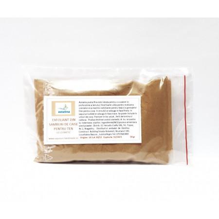 Exfoliant din samburi de caise pentru ten 50gr