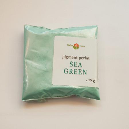 Pigment cosmetic perlat mica Sea Green 10 gr