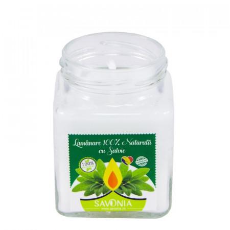 Salvie - Lumanare 100% Naturala 200gr