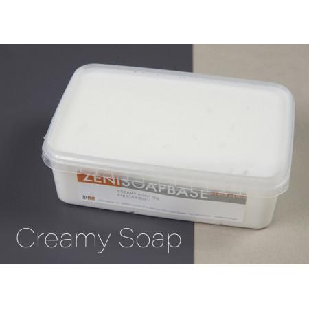 Baza de sapun Melt&Pour Zeni ALB - Creamy - 1 kg