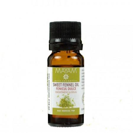 Fenicul dulce, ulei esential pur (foeniculum vulgare) 10 ml