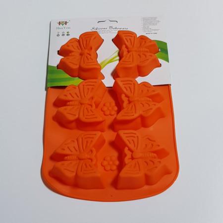 Forma de silicon Fluture 6 cavitati