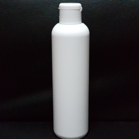 Recipient cosmetic sampon 200 ml din plastic alb