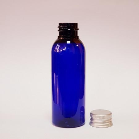 Sticla albastr PET cu capac 50 ml