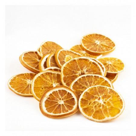 Felii de portocale deshidratate, fructe decor 100 gr