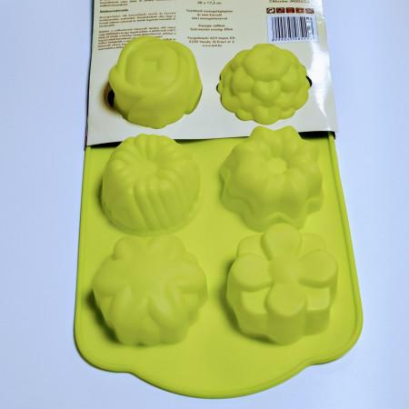 Forma de silicon Flori 6 cavitati